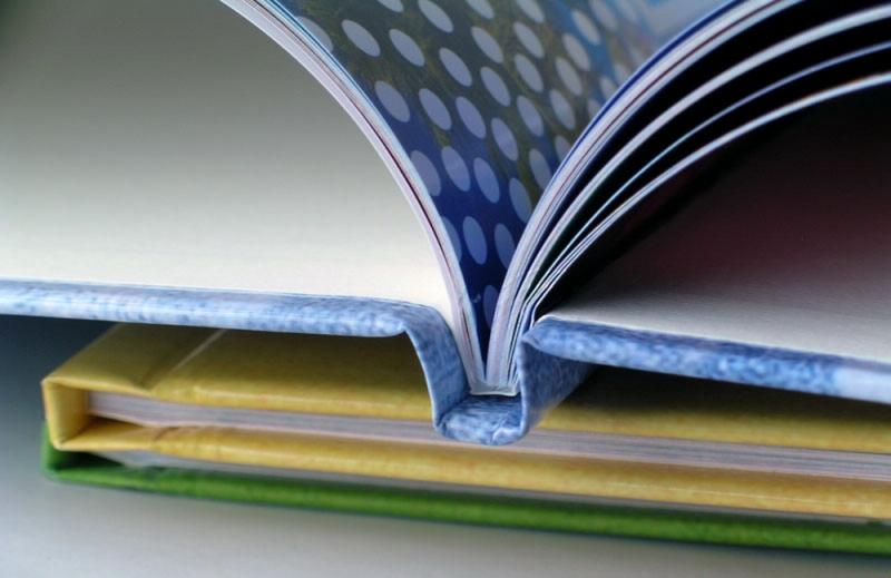 Изготовление книг в твердой обложке